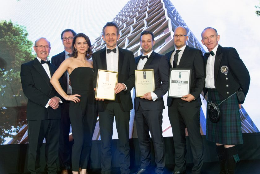 Dyer wins in several categories at the European Property Awards