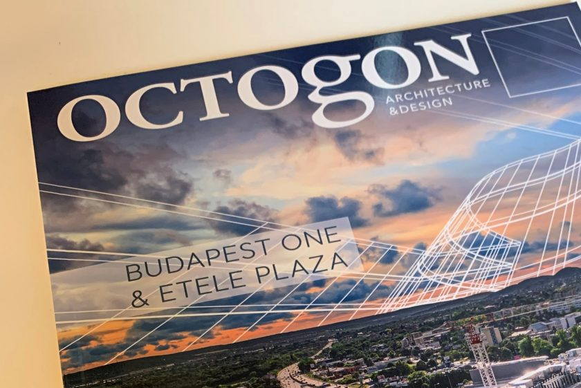 Dyer featured in Octogon architectural and design magazine's special edition!!!