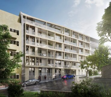 Dyer's new housing development in Budapest's District I. on track