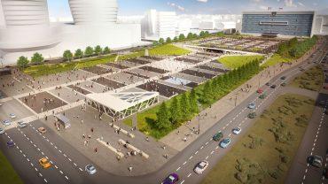 Perm City Square & City Mall